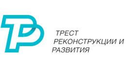 Логотип строительной компании Трест реконструкции и развития