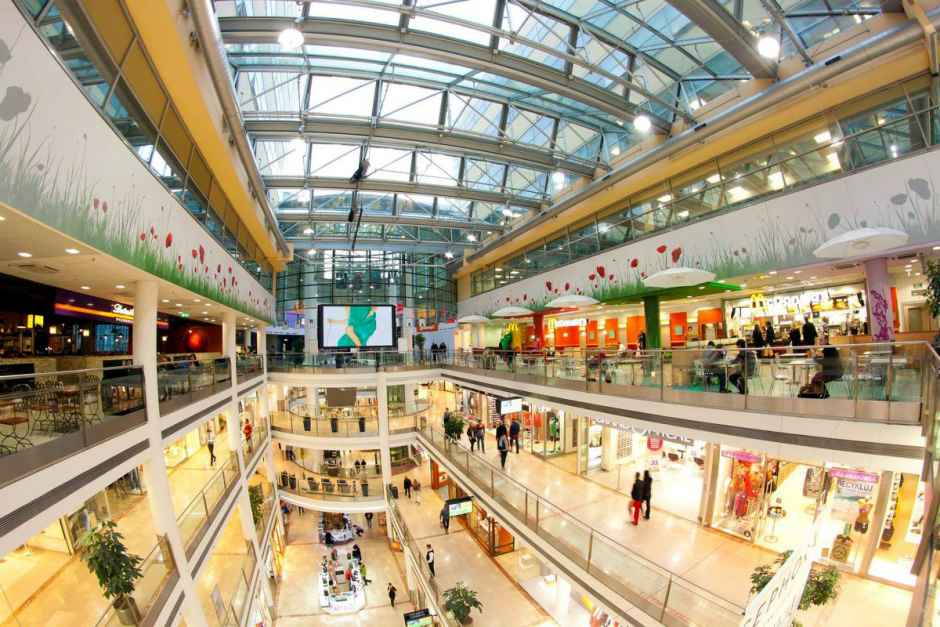 торговый центр в инфраструктуре