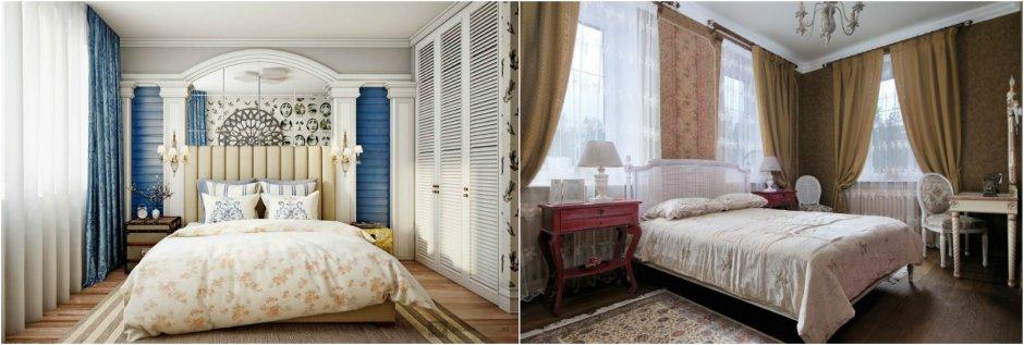 Французский интерьер в спальне фото