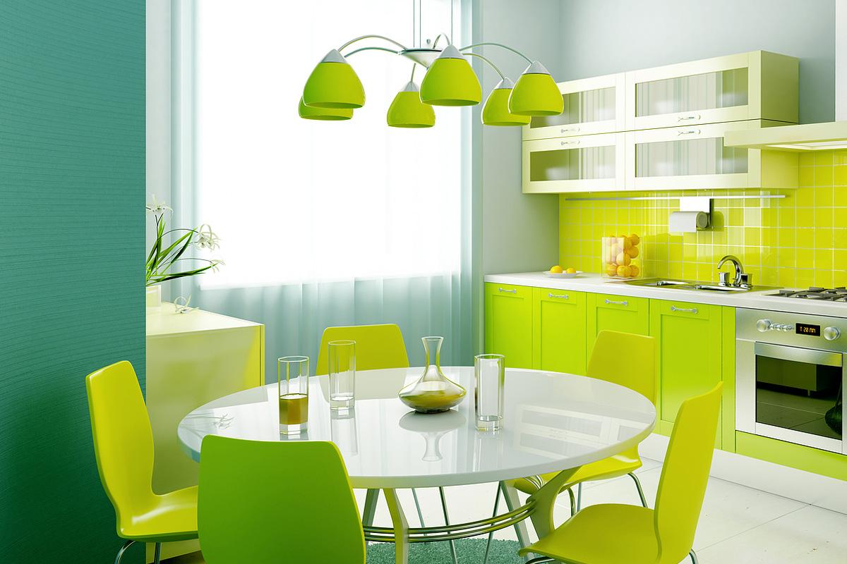 Яркие кухни маленькие дизайн