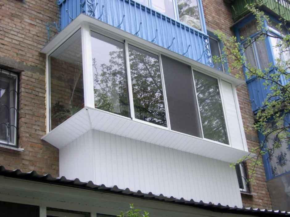 винос балкона по підвіконню