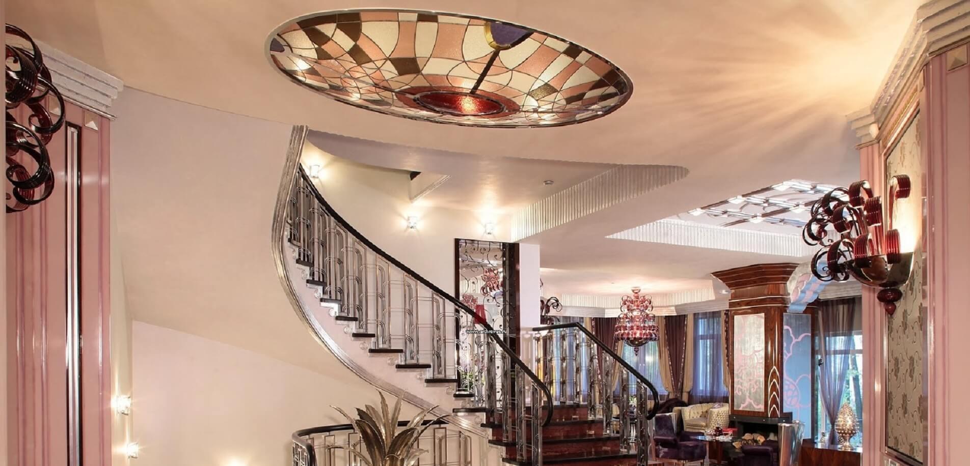 Декор в стиле модерн