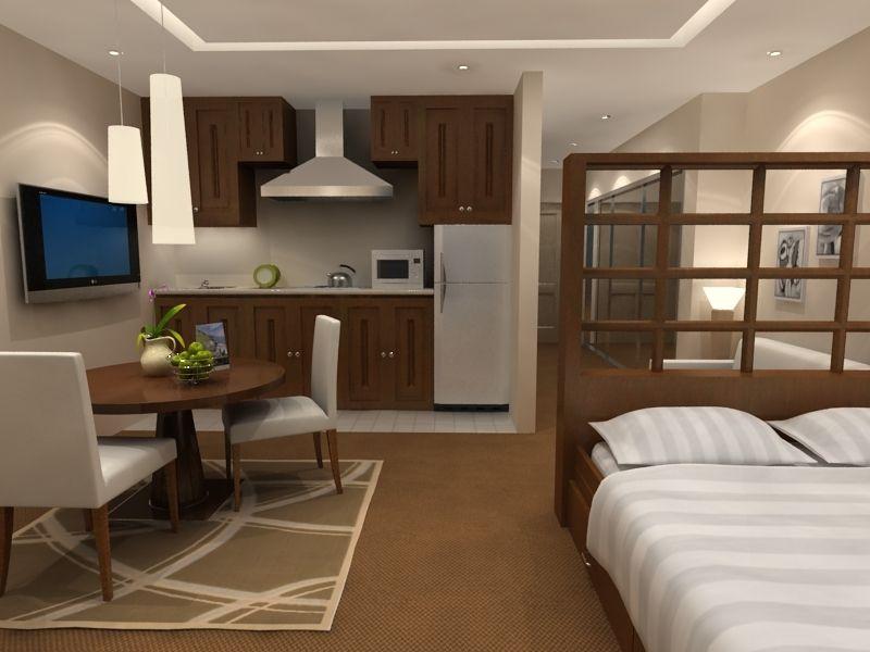 дизайн однокомнатной квартиры малосемейки