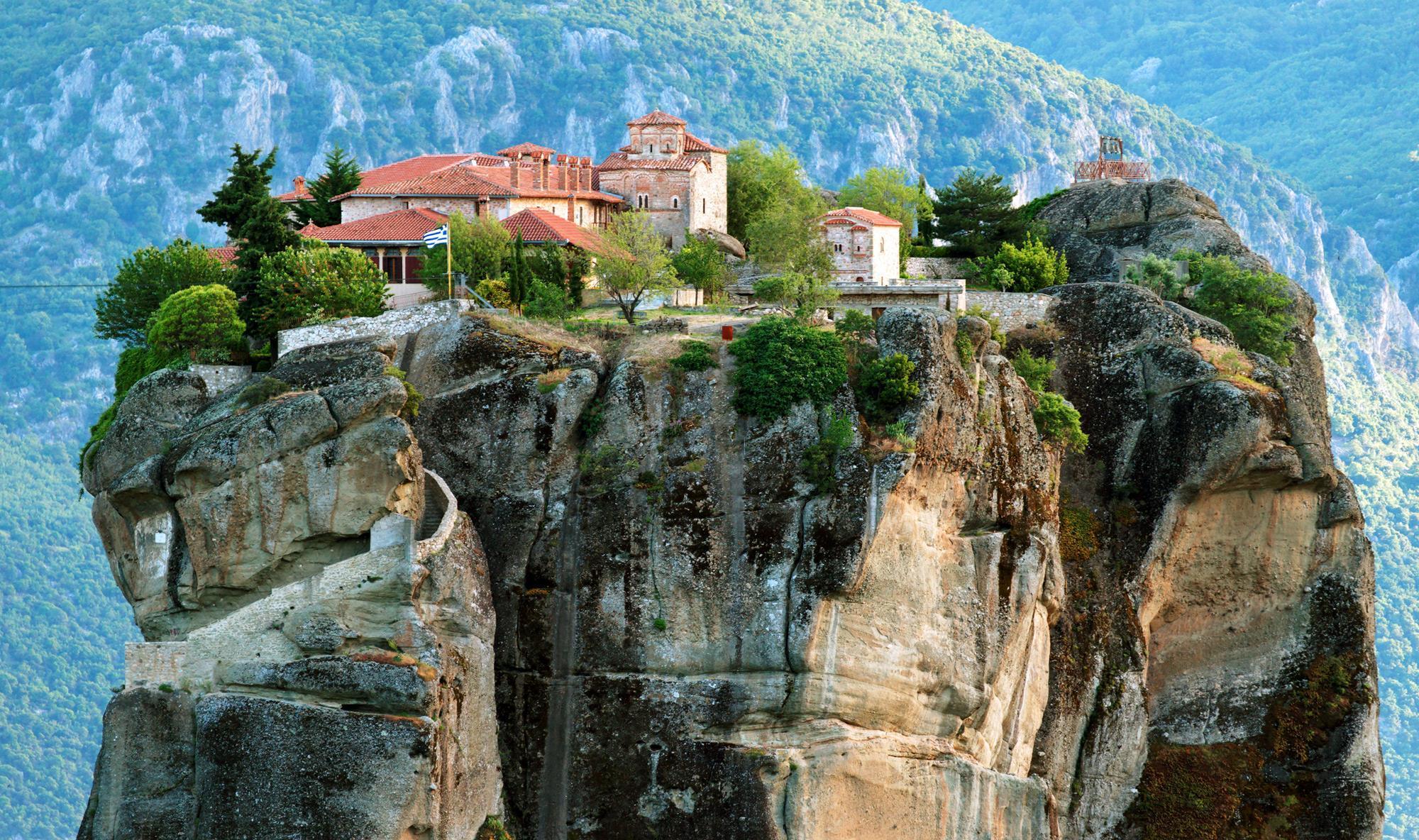 Метеора Греция фото