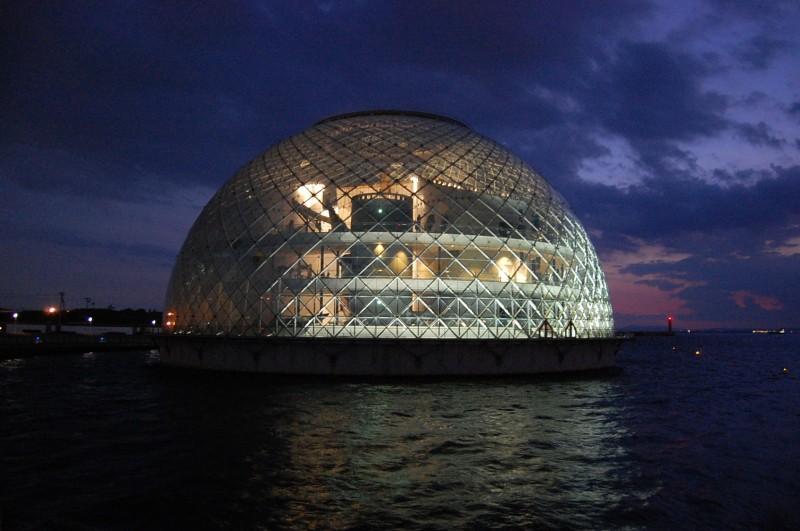 морской музей в осаке