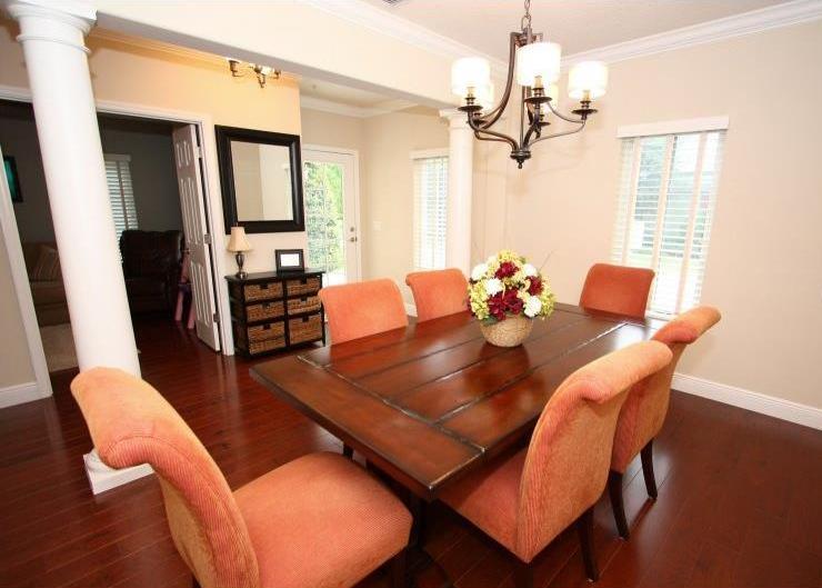 Как продавать дом за 8 дней, столовая