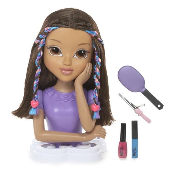 манекен для причесок для девочки