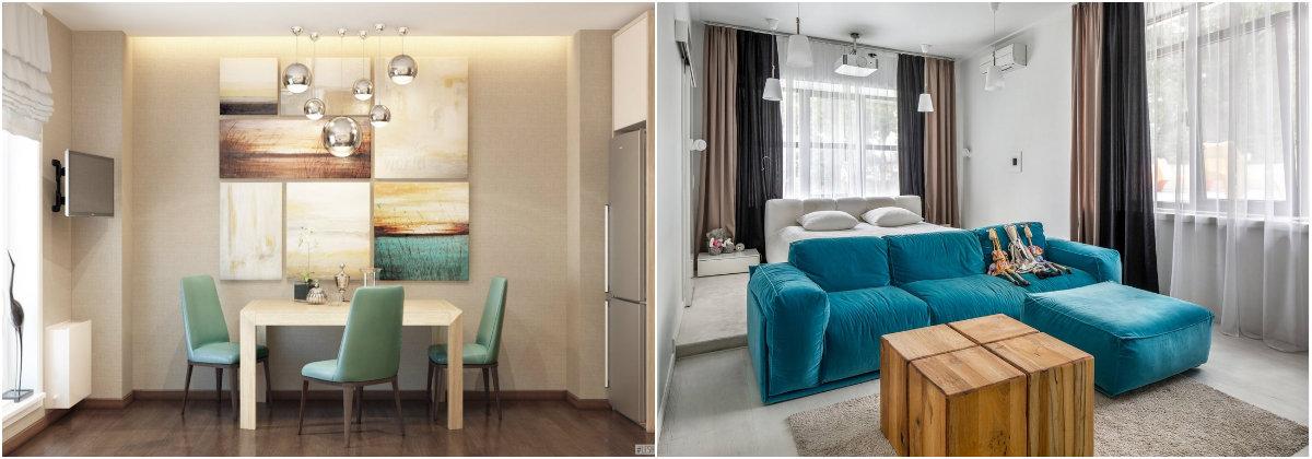 дизайн квартир в современном стиле фото