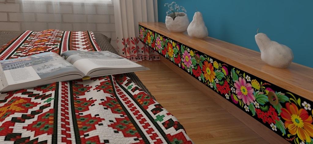 Декор в украинском стиле