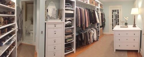 Оборудуйте лишнюю комнату вашего дома в гардеробную