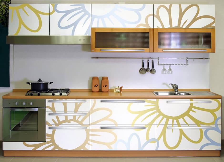обновить фасады кухни