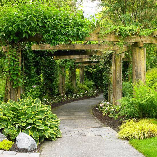 Создайте красивый вход на участок
