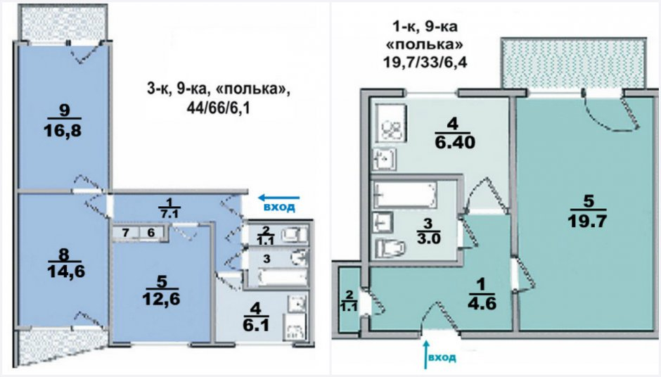 Квартира-полька