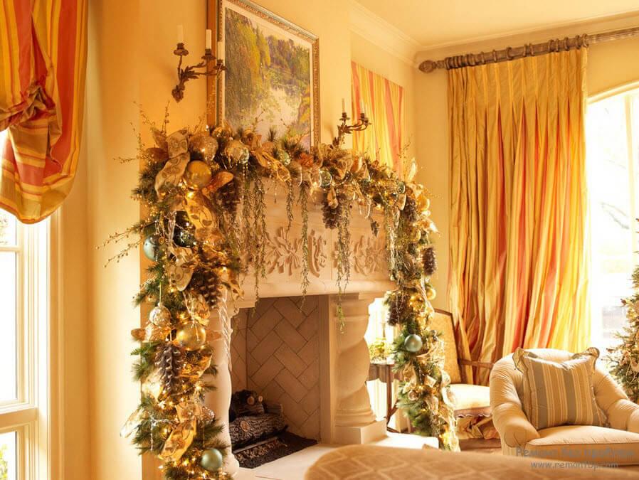 Идеи для украшения квартиры к новому году
