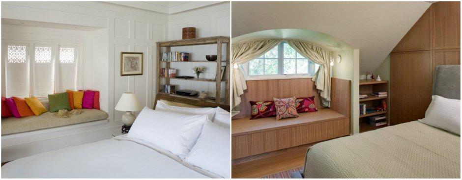 выбор дизайна для маленькой спальни