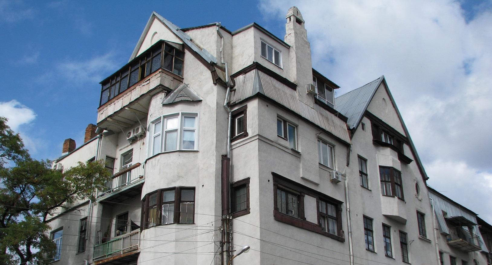 Преимущества квартиры в дореволюционном доме