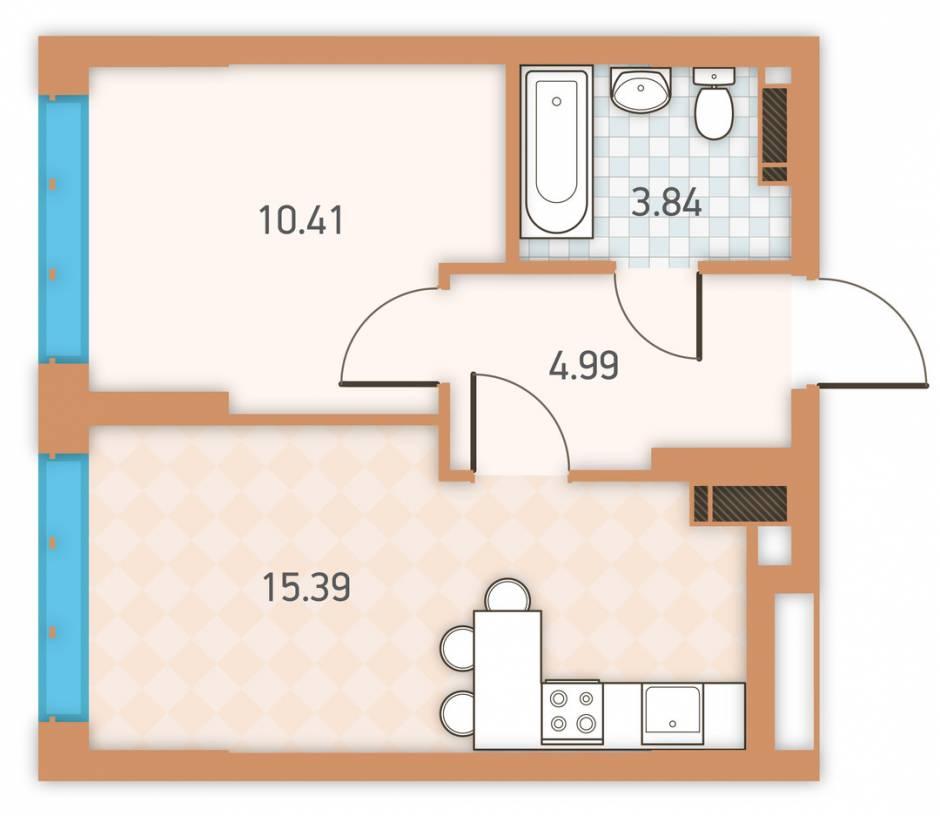 смежно-раздельная планировка квартиры