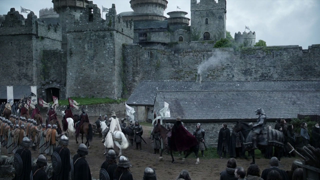 замок Винтерфелл