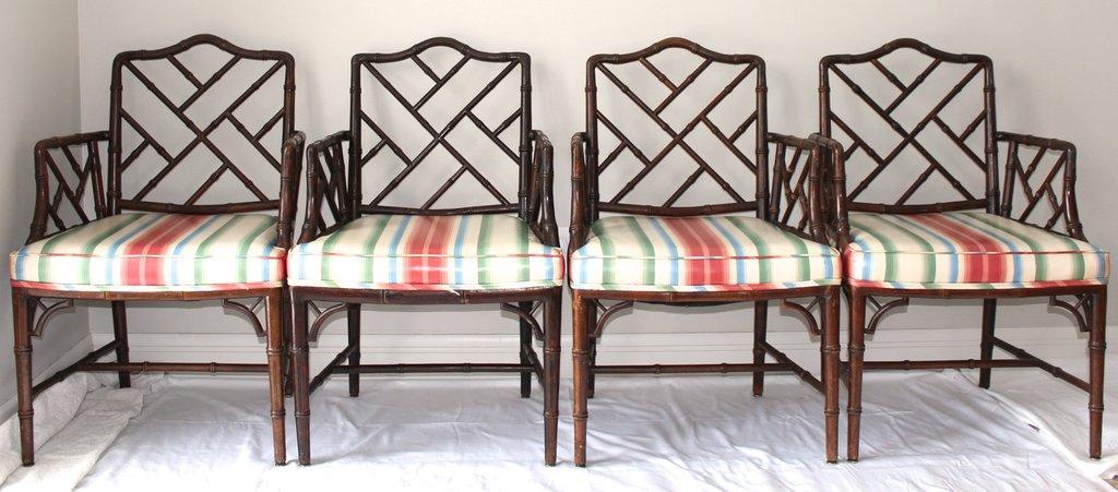 Кресла Чиппендейл в колониальном стиле