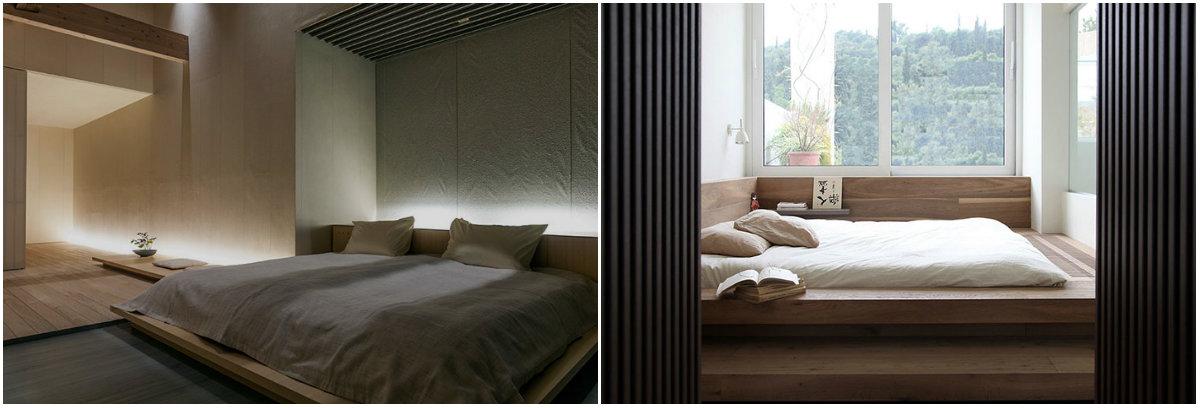 Спальня в японском стиле как обустроить