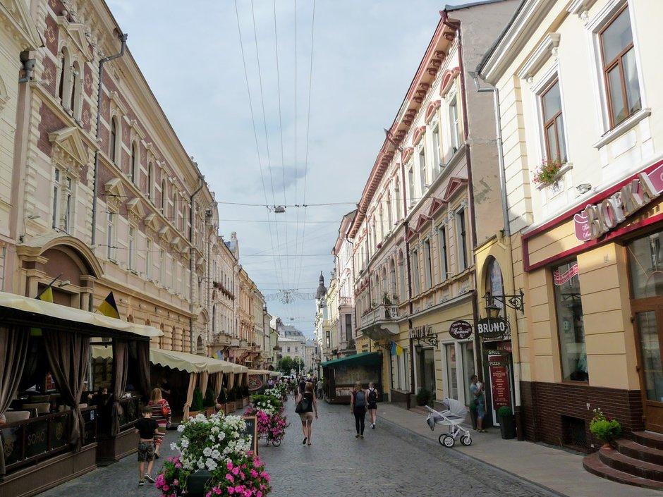 культурные заведения в Черновцах
