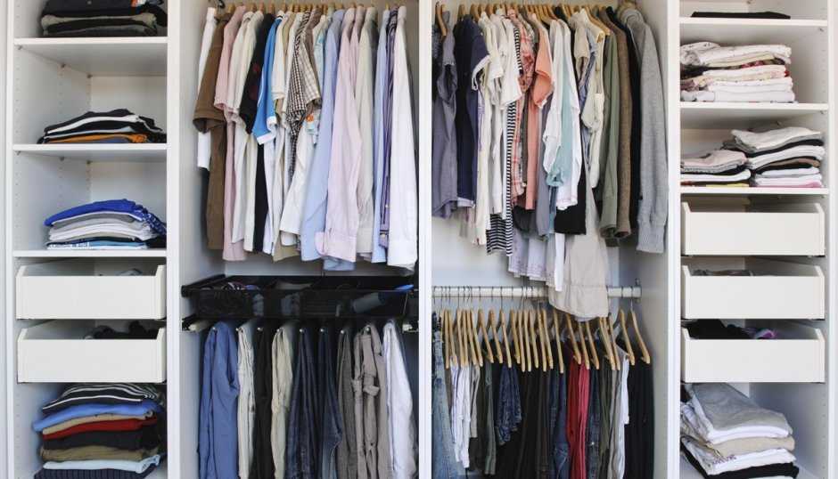 Как организовать пространство в шкафу
