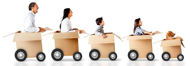 1. Переезд в более дешевый район