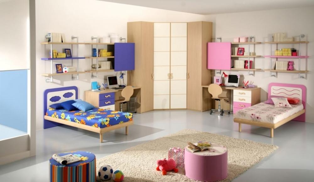комната для близнецов