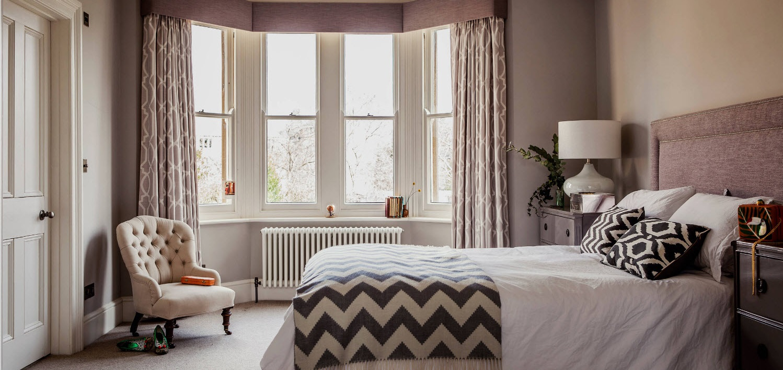 Спальня в стиле либерти