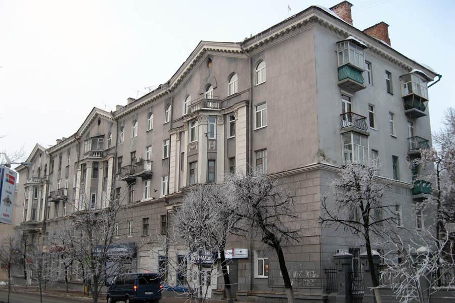 номенклатурные сталинские дома