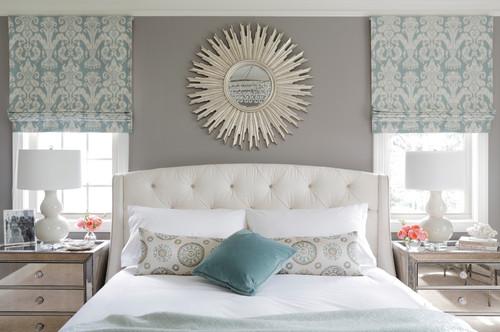 Обивка спинки кровати