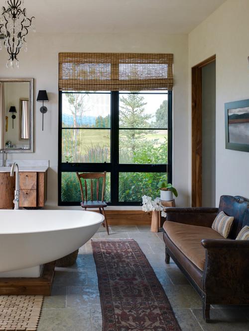 11. Ванная комната – продолжение интерьера дома.
