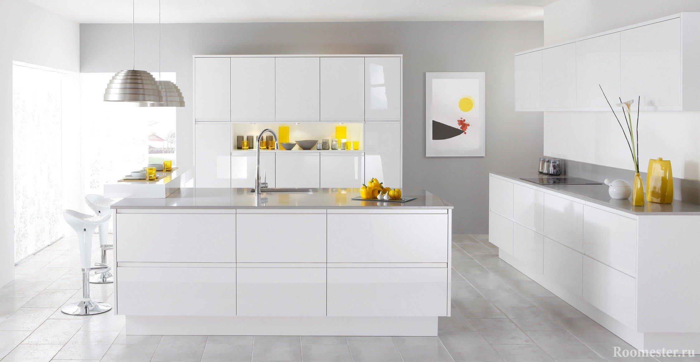 Как выбрать цвет для кухни