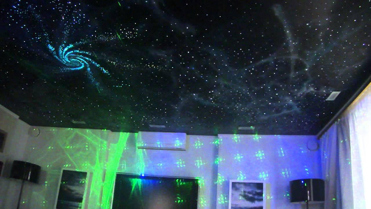 Проектор на потолок своими руками