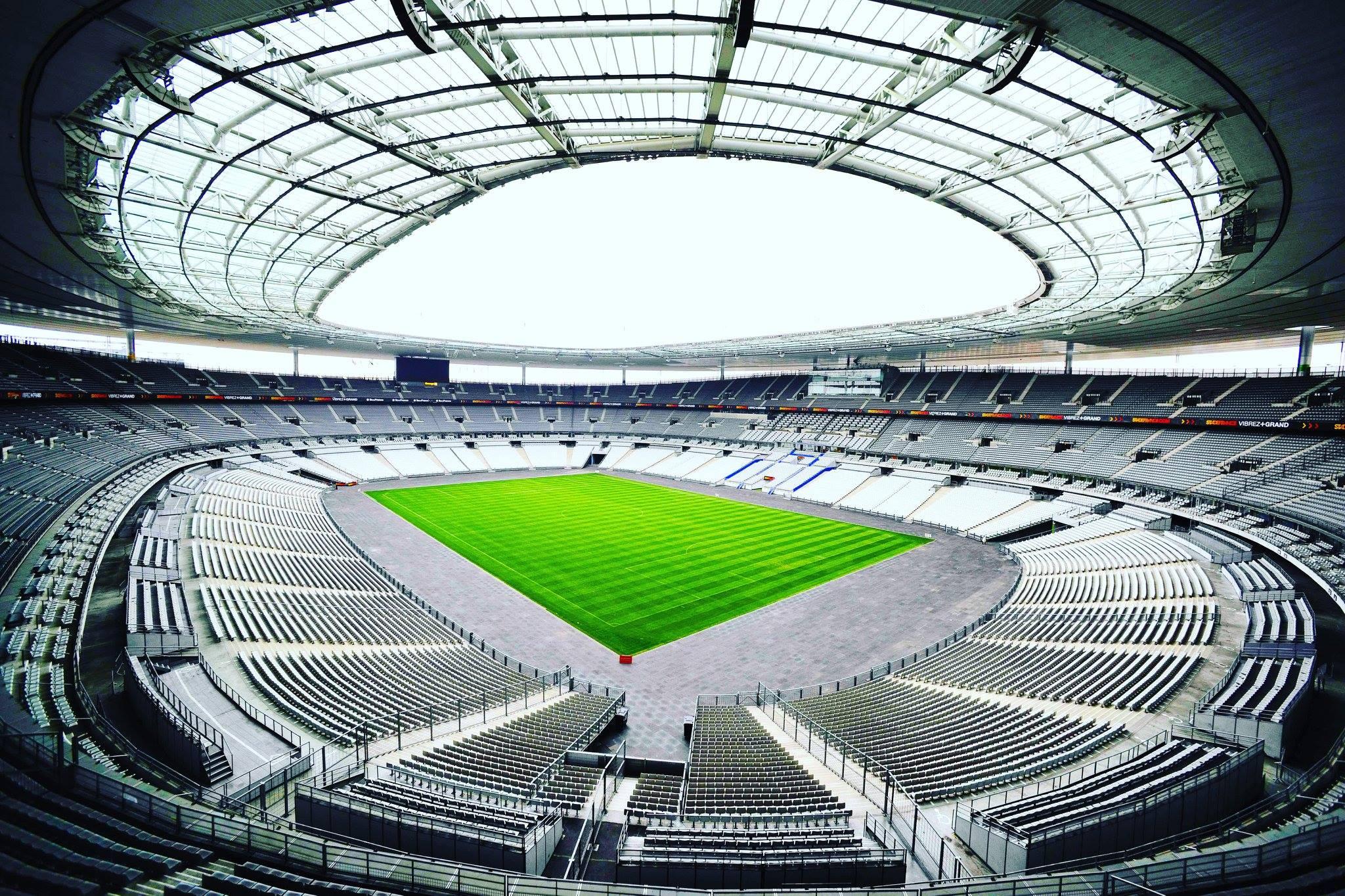 Стадионы Франции