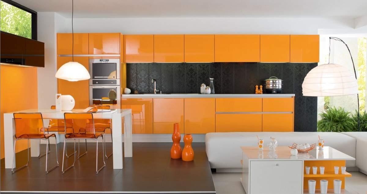 Как подобрать цвет в кухне