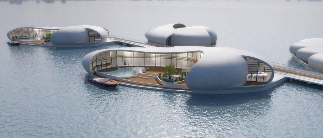 плавающий дом