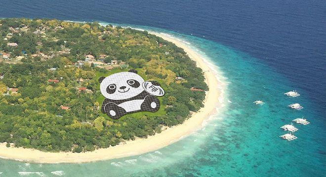 Панда на Фиджи