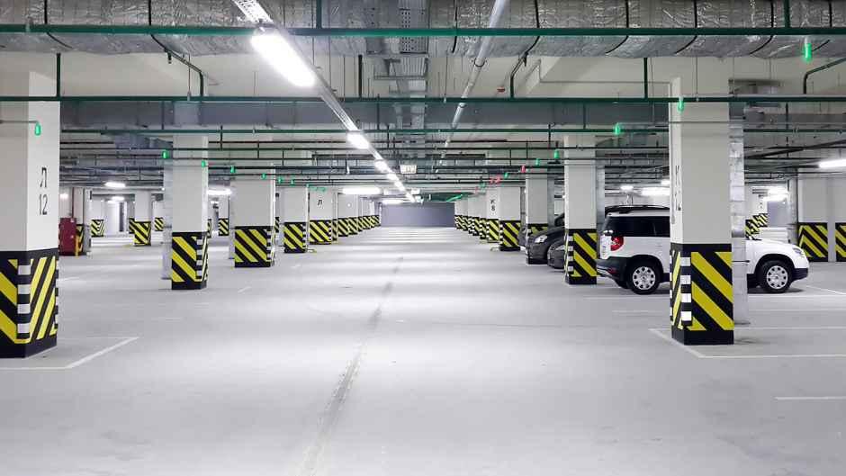 паркинг в инфраструктуре