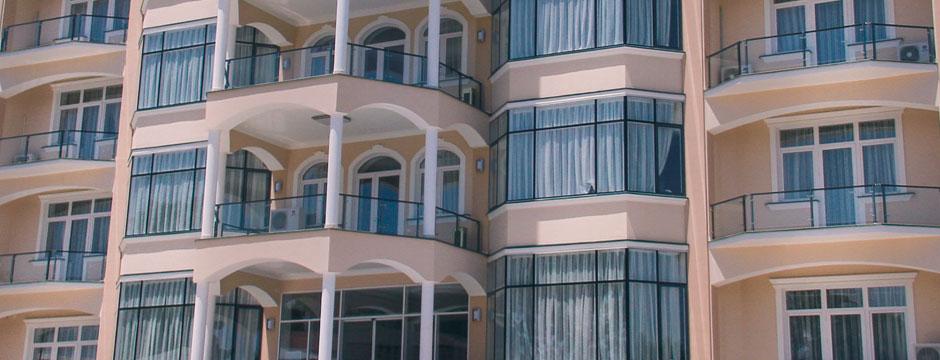 Види фасадів новобудови