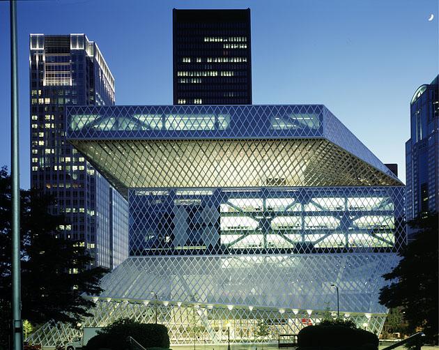 библиотека Сиэтла