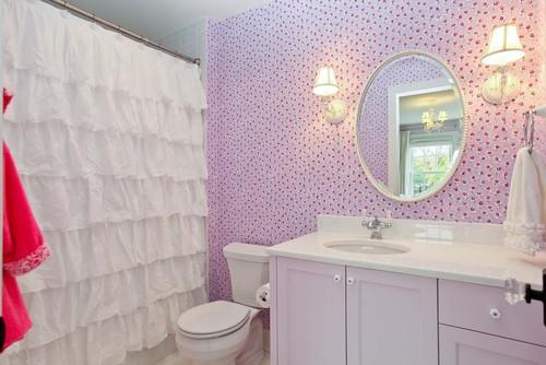 Шторки для ванной - приукрасьте ванную комнату