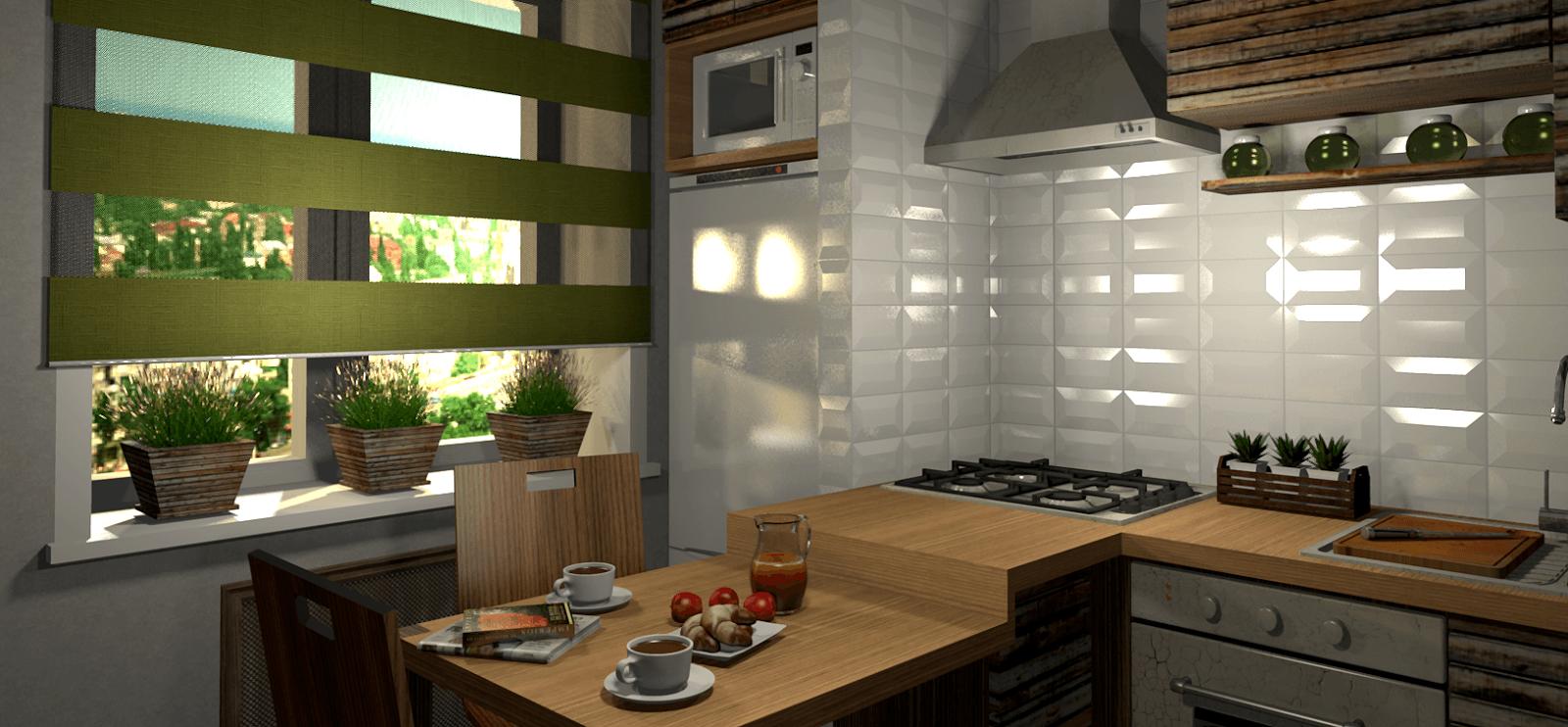 Идеи мебели для маленькой кухни фото