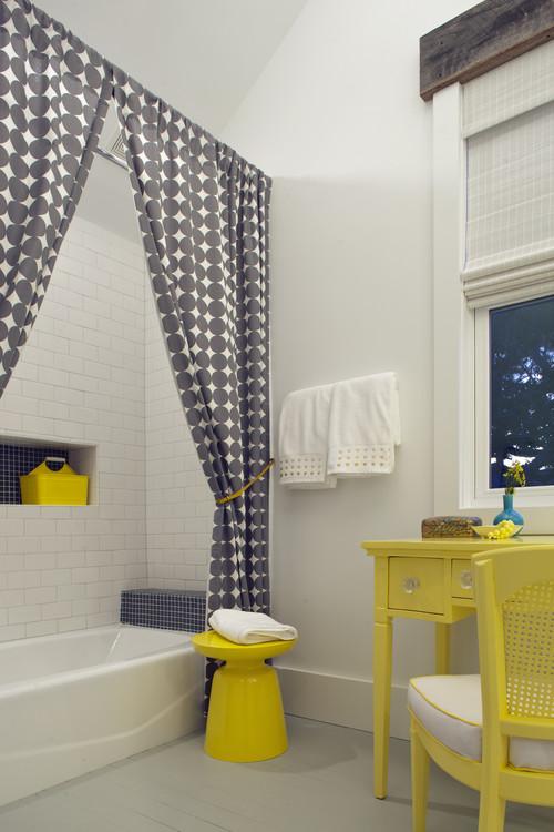 Занавески для ванной - выражение личности
