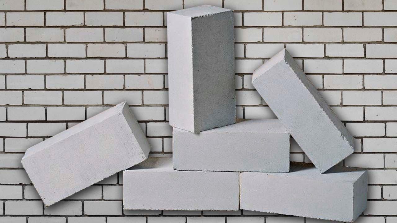 Что такое белый силикатный кирпич