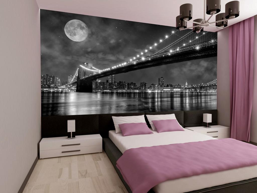 Фотообои для маленьких спален