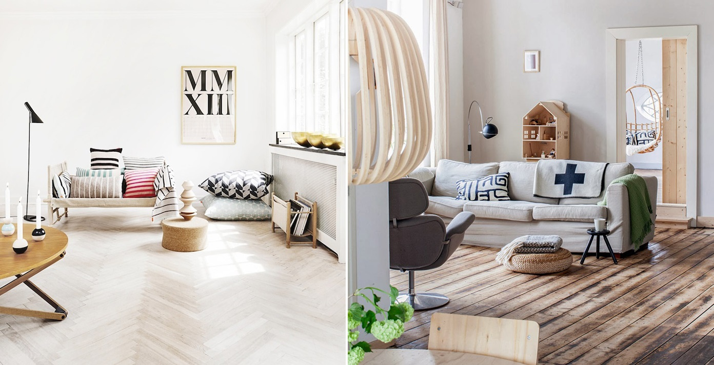 Скандинавский дизайн в интерьере