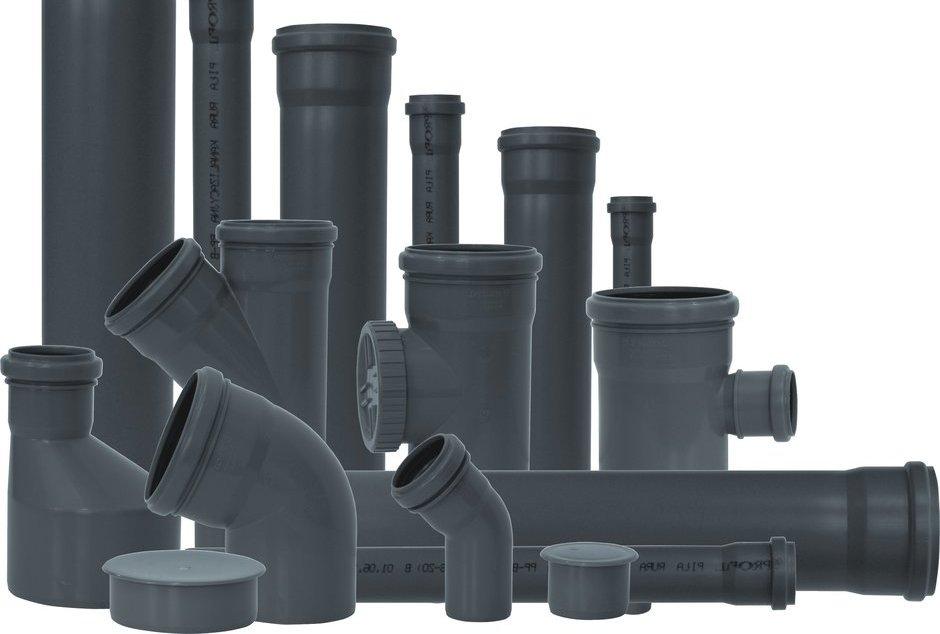 система канализации новостройки: типы и размер труб