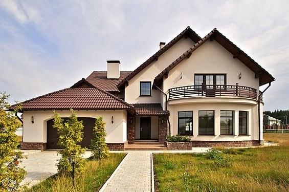 участок с домом