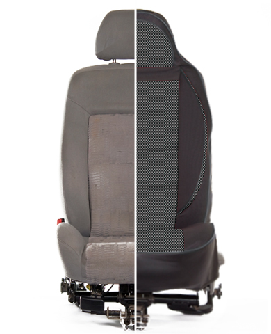 Сравнение седенья до и после установки